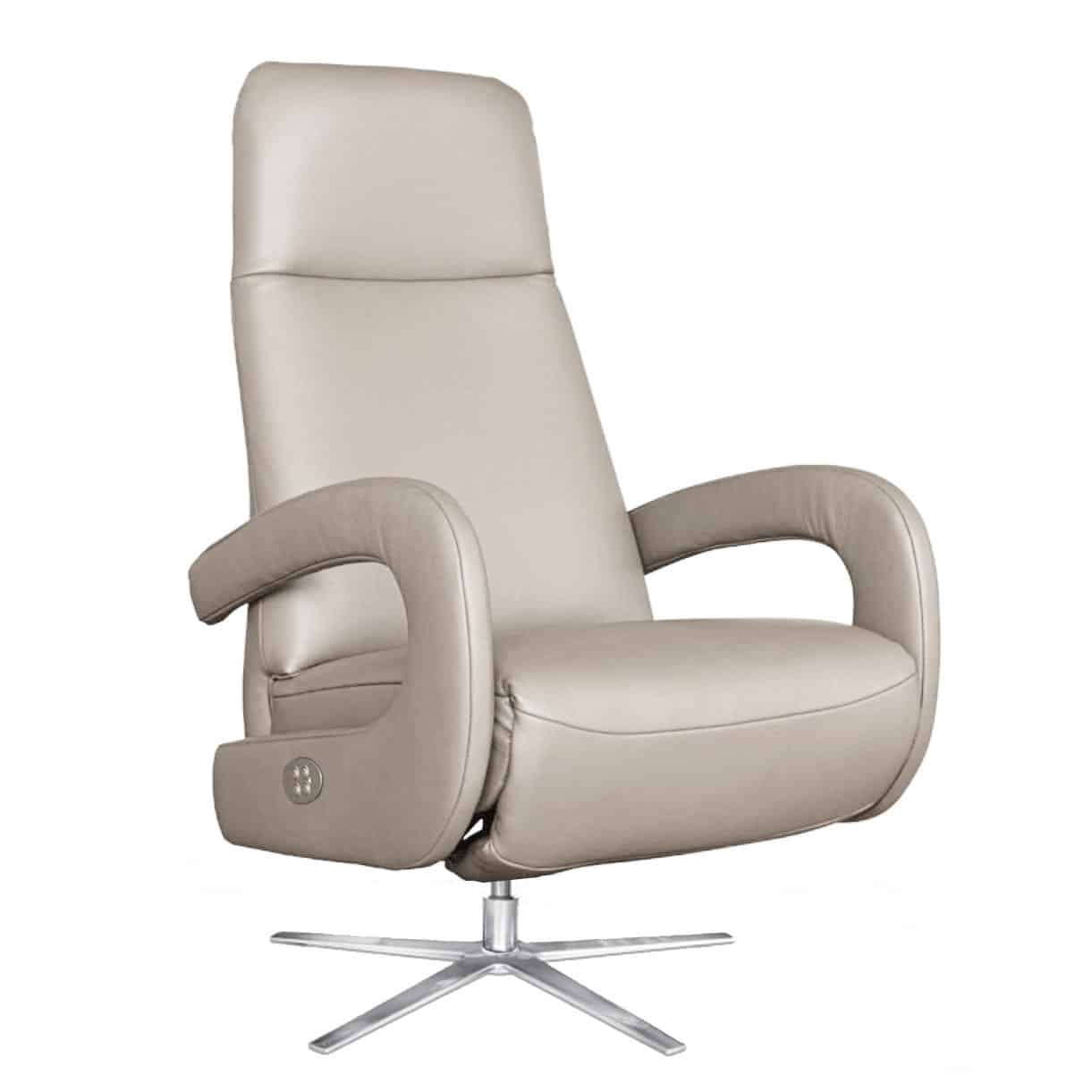 Sessel-Select-taupe-motorisch